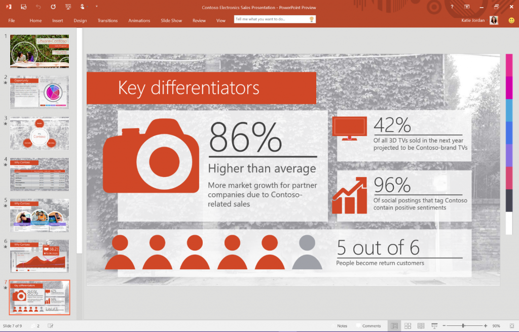 Office 2016 Preview, скрин 2