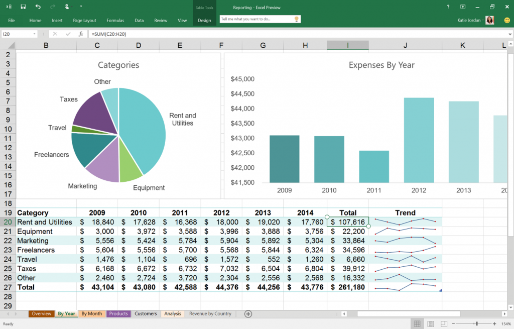 Office 2016 Preview, скрин 3