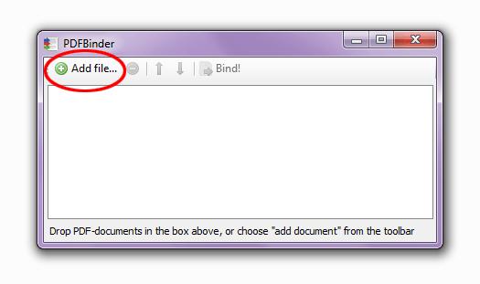 кнопка добавление файлов